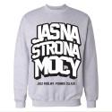 Jasna Strona Mocy 2 - bluza szara unisex