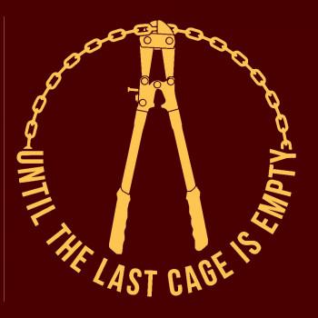 Until The Last Cage men's t-shirt