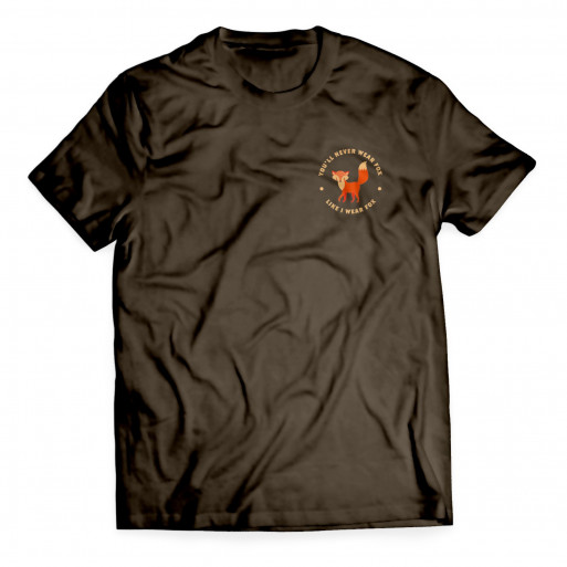 Fox brown men's t-shirt