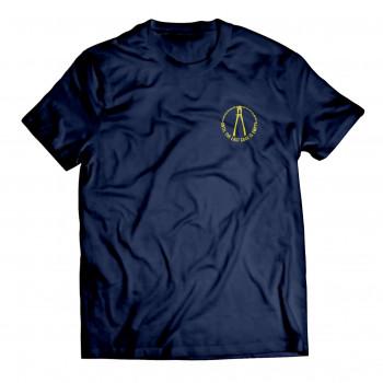 Until The Last Cage men's maroon t-shirt