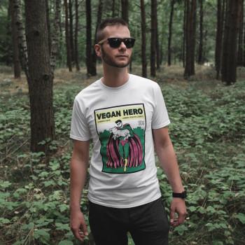 Vegan Hero Super - Koszulka...