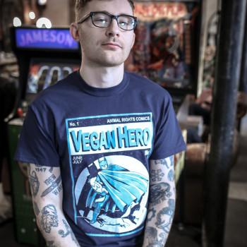 Vegan Hero Bat - Koszulka...