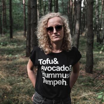 Tofu Tempeh - Koszulka Damska