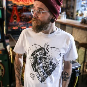 Heart Hen - Koszulka Męska