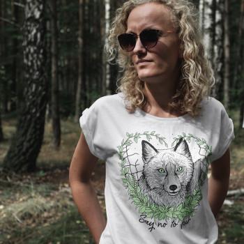 Say No To Fur - Koszulka...