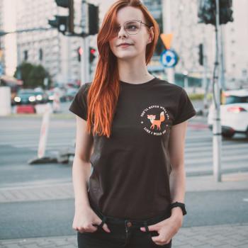 Fox - Koszulka Damska